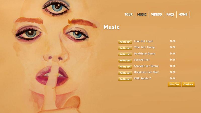 Prince's site 3rdEyeGirl.com