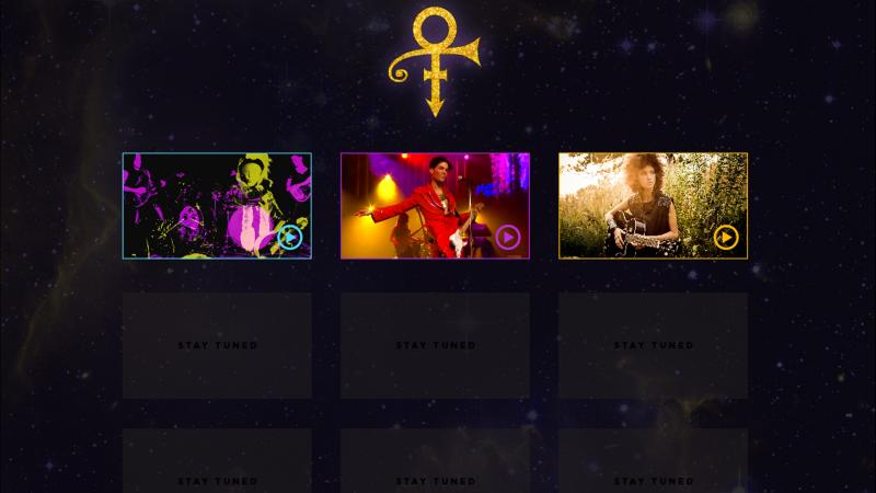 Prince's Official Site, 20PR1NC3.com
